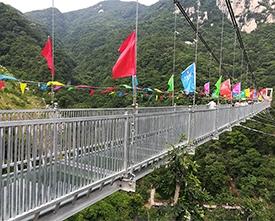 吉林玻璃吊桥工程